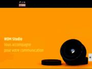 screenshot https://www.wdmstudio.fr Agence Web Bordeaux
