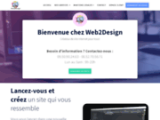 Création de site internet pour particuliers et professionnels