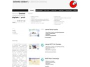 screenshot http://www.webdesign-desbat.com/ webdesign desbat