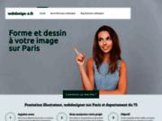 screenshot http://www.webdesign-x.fr webmaster paris