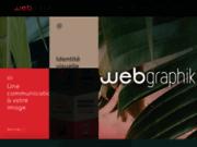 screenshot http://www.webgraphik.com graphiste / webdesigner
