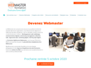 screenshot http://www.webmaster-formation.fr/ formation webmaster à toulouse