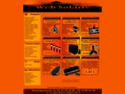 screenshot http://www.websolaire.com autonomie énergie solaire nomade