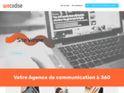 screenshot https://wecodise.com Création de site internet 95