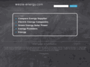 screenshot http://www.weole-energy.com weole energy : petits eoliens