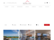 screenshot http://www.whereinrio.com location d'appartements, studios, villas de luxe à rio de janeiro