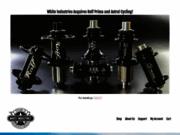 screenshot http://www.whiteind.com/ white industries
