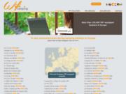screenshot http://www.wificamping.com wifi camping - réseaux maillés wifi pour campings