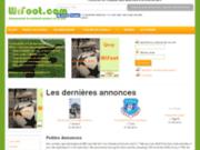 WiFoot - Votre réseau football sur le web (pour créer un réseau ou consulter les news football)