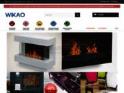 screenshot http://www.wikao.fr Se chauffer à l'éthanol et décorer sa maison avec Wikao