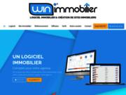 screenshot http://www.winimmobilier.com logiciel professionnel de gestion de transactions