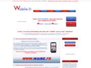 screenshot http://www.wobile.fr création de sites internet pour téléphone portable
