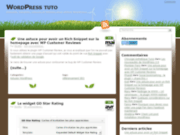 screenshot http://WordPress-tuto.fr wordpress tuto
