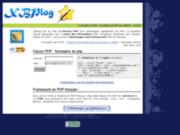 Formulaire en PHP avec MySQL par les classes PHP de XBPlog