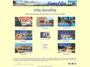 screenshot http://www.xenofilia.eu location villa de vacances espagne