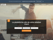 screenshot http://www.xtco.fr xtco : vente d'outils d'enquete marketing