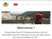 screenshot http://www.xtremebikeclub.fr XBC VTT Strasbourg Alsace