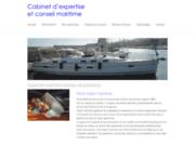 screenshot http://www.yachtexpertise.be expert maritime bateau de plaisance