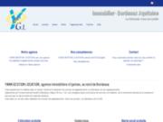 screenshot http://www.ygl33.com ygl : immobilier à bordeaux, eysines et la région aquitaine
