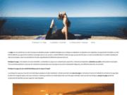 screenshot http://yoga-lyon-onlyoga.fr/ yoga à Lyon