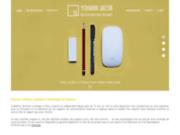 screenshot http://www.yohannjacob.fr graphiste freelance