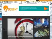 screenshot http://www.yoolight.fr/ création site internet