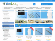 screenshot http://www.youlab.fr blouse blanche