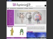 screenshot http://www.ze-deguisement.fr déguisements adulte