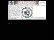 screenshot http://www.zellige-marocain.com/ zellige marocain: carreaux, fontaine et table