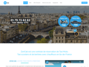 ZenCab : une centrale de réservation de taxis