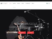 screenshot http://www.zeryebmusique.com magasin musique tunisie