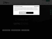screenshot http://www.zilten.com/ zilten, le fabricant spécialiste de portes d'entrée design et de qualité