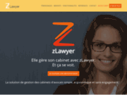 screenshot http://www.zlawyer.fr Logiciel avocat