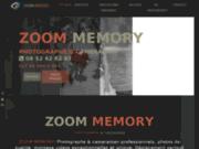 screenshot http://www.zoommemory.fr/ Photographe cameraman - Zoom Memory