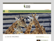 screenshot https://www.zoovincennes.com/ zoo