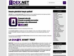 Détails : Annuaire 1dex.net