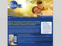 Création du site Internet de 2ESC (Entreprise de Electricien à NEUVICQ )