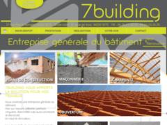 Création du site Internet de 7 BUILDING (Entreprise de Entreprise générale à SETE )