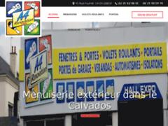 Création du site Internet de A4 Rénovation (Entreprise de Menuisier à LISIEUX )