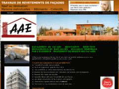 Création du site Internet de AAE façades (Entreprise de Façadier à TOULON )