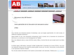 Création du site Internet de AB FENETRE (Entreprise de Menuisier à LES SALLES DU GARDON )