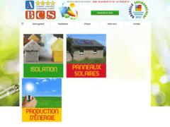 Création du site Internet de A B C S (Entreprise de Courtier en travaux à SAINT MAUR DES FOSSES )