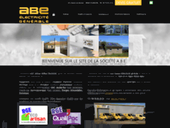 Création du site Internet de A.B.E (Artisan Briffaut Electricité) (Entreprise de Electricien à ST ETIENNE DE CROSSEY )