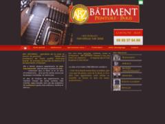 Création du site Internet de ABZ BATIMENT (Entreprise de Peintre à EPINAY SUR SEINE )
