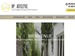 Création du site Internet de ADOLPHE FRANCOIS (Entreprise de Couvreur à DAMMARIE LES LYS )