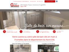 Création du site Internet de GOBERT Denis (Entreprise de Cuisiniste à FROMELLES )