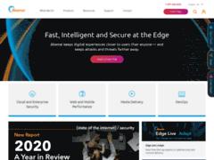 Akamai.com est le premier fournisseur de services CDN