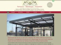 Création du site Internet de SERRURIER /METALLIER AKARALI (Entreprise de Serrurier à ASNIERES-SUR-SEINE )