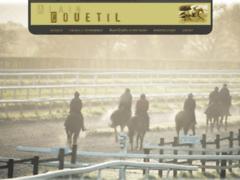 ALAIN COUETIL, entraîneur de chevaux