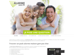 Un pack alarme GSM à prix discount